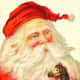 Vintage Santa graphics: Santa gets creative