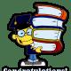 Asian boy graduation clip art