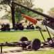 War equipment seen on the Rock Island Arsenal grounds