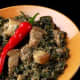 Bicol Laing (Photo courtesy of Bob Marlin Restaurant and Grill)