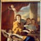 "Nicolas Poussin's ""Saint Cecilia"""