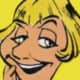 Annie Cordy as Chief Beefix's wife in Asterix in Belgium