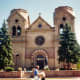 St. Francis Cathedral in Santa Fe, New Mexico