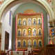 The Reredos in the sanctuary of St. Francis, Santa Fe, New Mexico