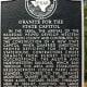 Brushy Creek Park Historical Marker - Cedar Park TX