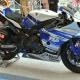 雅马哈赛车摩托车2014。