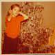 My older sister Melanie and I. Christmas 1959.