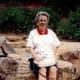 My mother in Oak Creek Canyon