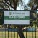 Mashford fields, named after Mrs. P. Mashford.