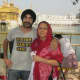 a better view of Thara Sahib - my son & wife  in the picture.