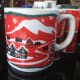 A Xmas mug from Tully's. I got this one Christmas just because.