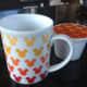 Tea mug with tea strainer and cover from Hong Kong Disneyland