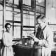 Here, the brains of the operation is pictured as if she is some lab assistent gopher who fetches things for the great Otto Hahn. Lise Meitner's brain was the elephant in the room. Better late than never, here's to you Lise Meitner, you genius!