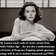 Proof that beauty and brains are not mutually exclusive. That's Hedy Lamarr. Proof for the ages.