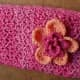 Bushy Pouch with Dr. Jeckyll's Crochet Flower Experiment #2