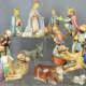 beautiful Hummel Nativity Set in soft pastels