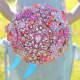 Vintage jewelry brooch bouquet by Noaki