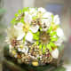 Vintage jewelry brooch bouquet by Hair Bows Wonder World