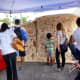 Pearl Fincher Museum of Fine Arts display outdoors at Creekfest