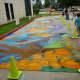 So much chalk art!