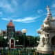 another view of flora fountain