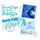 Personalized Santa letter 3: North Pole postmarks
