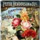 Peter Henderson & Co. vintage seed packet art -- 1887