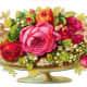 Victorian flower arrangement clip art