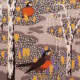 """""""Robins and Crocuses"""" Wallpaper Design by Charles Burchfield 1929"""