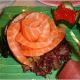 Sashimi rose (http://en.wikipedia.org/wiki/Sashimi)