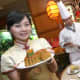 Moon Cake Festival in Shangri-La Hotel, Surabaya, East Java, Indonesia