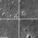March 2012 - the same LRO pass showed various traces of the moon buggy's tracks across the surface.