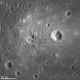 November 2011. Taken from a height of 15 miles, this is the LRO's best photo of the Apollo 11 landing site. (LM = lunar module's legs and platform, left behind on blastoff. See link for more info on labels). Astronaut footprints faintly visible.