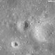 November 2011: Apollo 12 Landing Site, wide view to show more tracks and details of the landing area. (Click link for larger size version on LRO website).