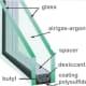 Standard Double Glazed Unit with Aluminium Spacer Bar