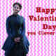 Claire Oswin Oswald Valentine Card For A Whovian