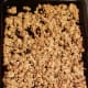 Spread evenly over a cookie sheet. Bake at 350 degrees for 20 minutes or until granola starts turning golden brown.