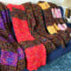 A variety of color combinations of Bright & Lofty yarns.