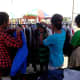 Pre-loved (Ukay-ukay)clothes attracted local buyers. (Photo Source: Ireno A. Alcala)