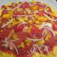 Add the slivered onion slice.