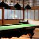 Billiard room, Tamozawa villa in winter.