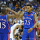 Mario Chalmers and Brandon Rush led KU to the championship in 2008
