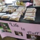 Farmer's Market at Imperial Sugar Land…one of several dog treat offerings we noted.