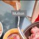 Medium sized Mutton Piece