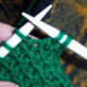 Start off this method by knitting two stitches.