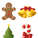 Christmas activities: Just print, cut and decorate with beads to glitter to make your own Christmas ornaments!