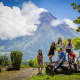 Strike a Pose with the famous Mayon Volcano