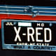 The license plate on Yakov's Ferrari