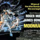 The UK theatrical release poster for Moonraker.