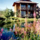 Spring Creek Ranch was an absolutely incredible place to stay. We fed ducks each day from our balcony.